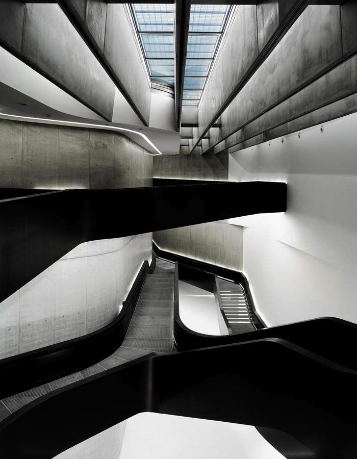 pin von barbara titz auf architecture pinterest architektur treppe und minimalismus. Black Bedroom Furniture Sets. Home Design Ideas