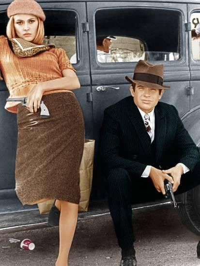 'Bonnie and Clyde, Faye Dunaway, Warren Beatty, 1967' Photo - | AllPosters.com