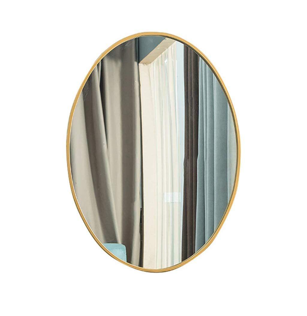 Miroir Ovale Pour Salle De Bain Avec Miroir Mural Miroir De