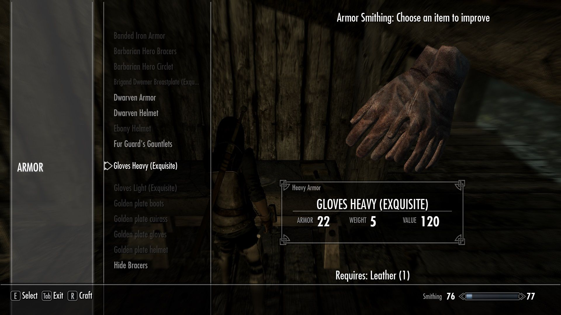 Simple Armored Gloves at Skyrim Nexus - mods and community