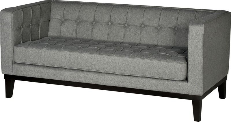 Love The Clean Lines Of This Sofa. Plus No Cushions! Cedric Loveseat From  Urban Barn.