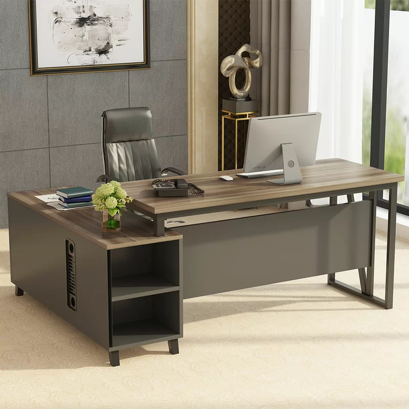 Coe L Shape Executive Desk L Shaped Desk Large Office Desk