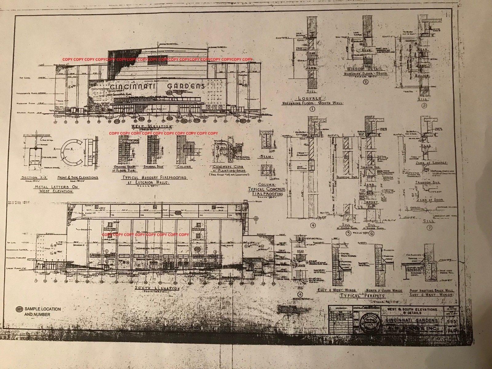 Cincinnati gardens blueprint historic cincinnati pinterest cincinnati gardens blueprint malvernweather Images