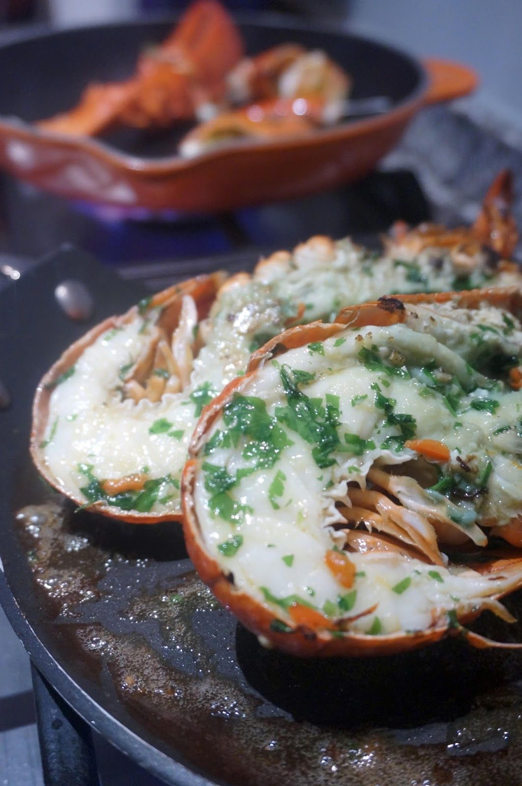 megmade Grilled garlic/chilli/parsley butter lobster