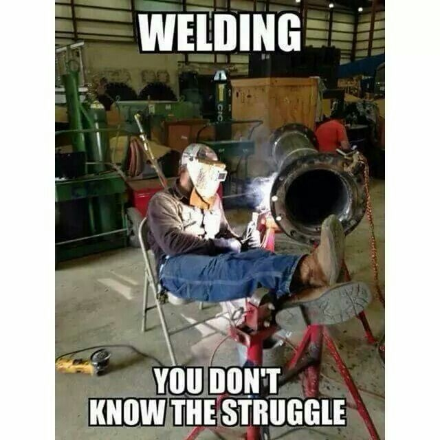 too much stress welding is a lifestyle welding