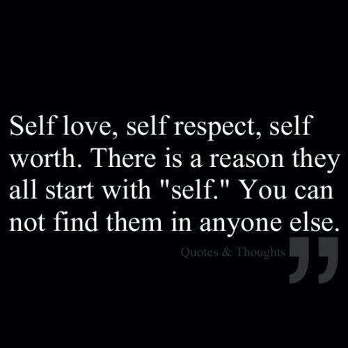 It Starts with Self