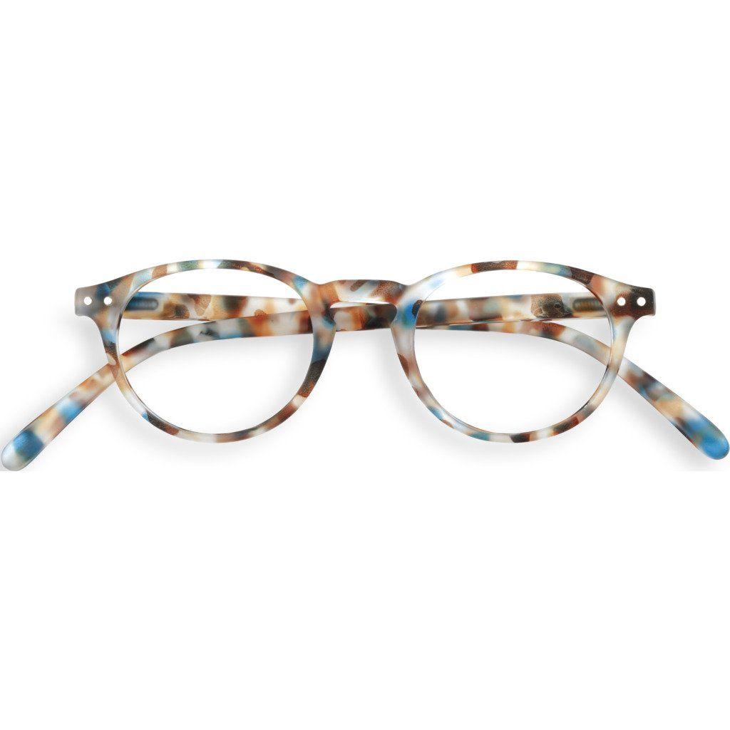 Izipizi Reading Glasses A-Frame   Blue Tortoise