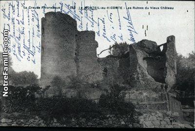 Cartes postales anciennes de Le Monteil-au-Vicomte