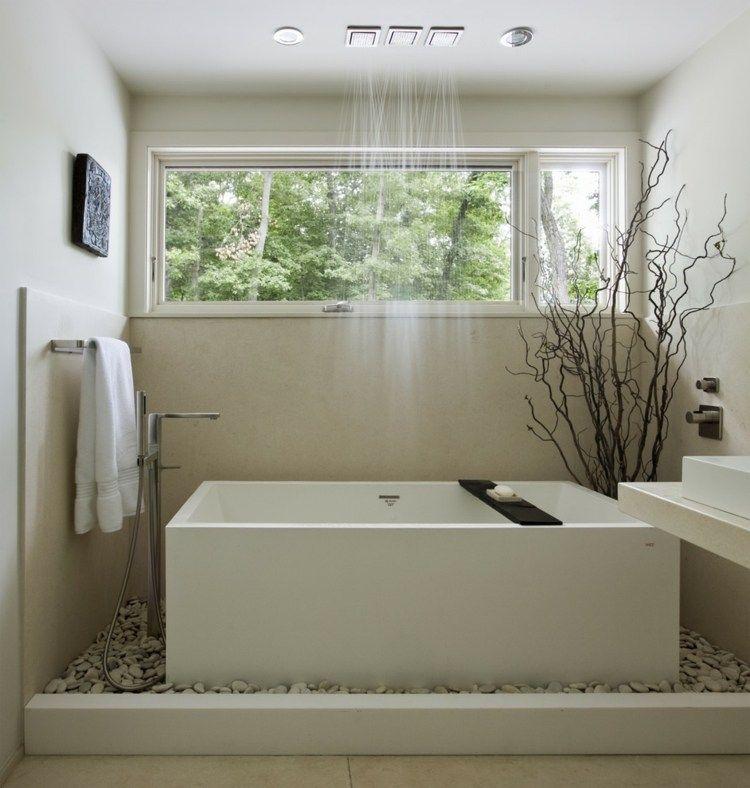 Photo salle de bain zen idées pour une décoration relaxante Bathroom