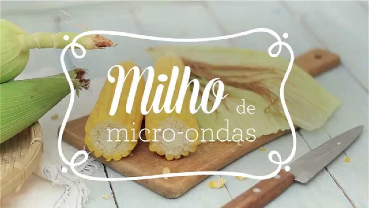 Drops Casa e Comida #12 - Como fazer milho no micro-ondas + dica para se...