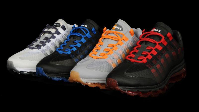 Nike Air Max 95 360 Black Water Blue Shoes
