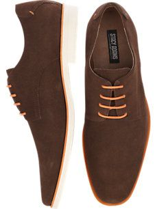 Stacy Adams Tremain Brown Suede Lace Up Shoes