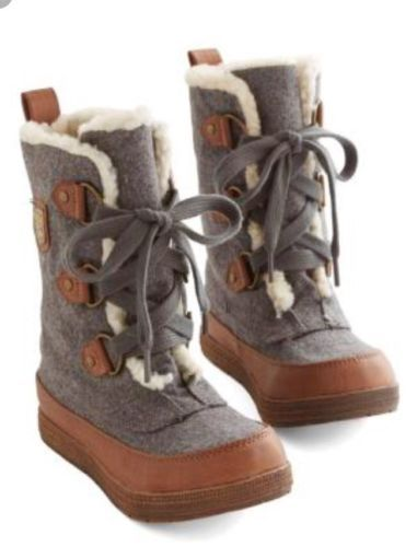 5944ceccae671 Rocket Dog Sherpa Lined Boots From ModCloth, Women's Size 6 ...