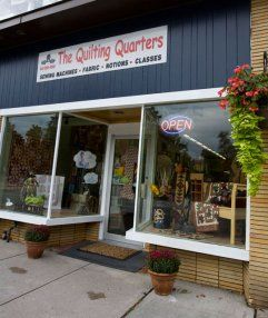 The Quilting Quarters, Almonte, Ontario | Quilt Shop Hop | Pinterest : quilt junction waterford ontario - Adamdwight.com