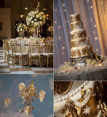 White and gold wedding theme wwwweddingsonlinein Dream Wedding