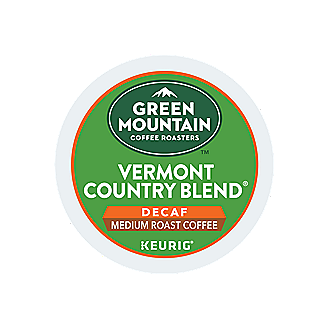 Vermont Country Blend Decaf Coffee Green Mountain Coffee Breakfast Blend Coffee Mountain Coffee