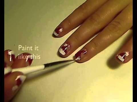 15 xmas nails christmas santa hat ideas