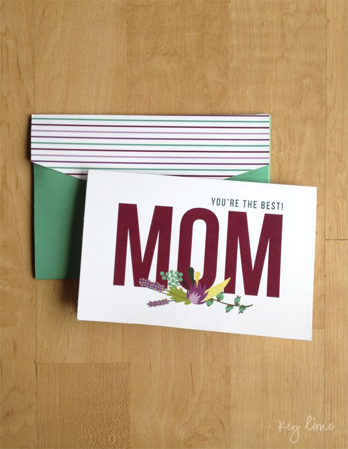Printable Mothers Day Card Free