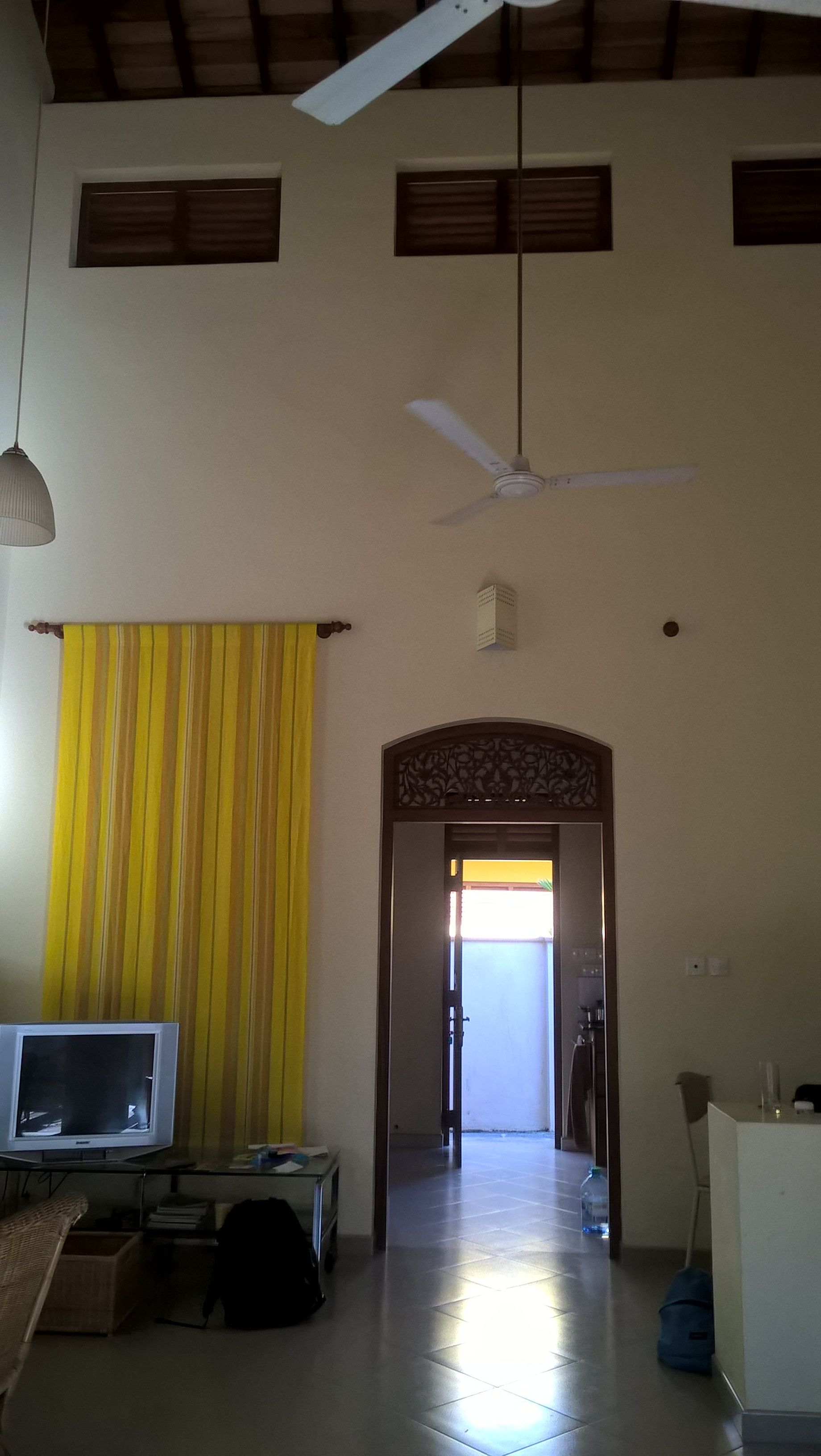 The Living Room with the High Ceiling, Nisala Villa in ...