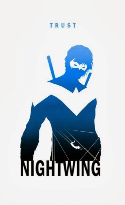 Trust - Nightwing By Steve Garcia   Art: Minimalist ...