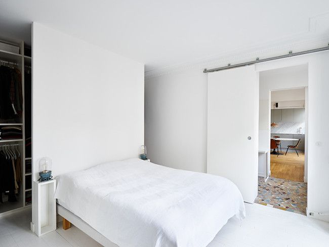 This Minimal Paris Apartment Is The Stuff Dreams Are Made Of With