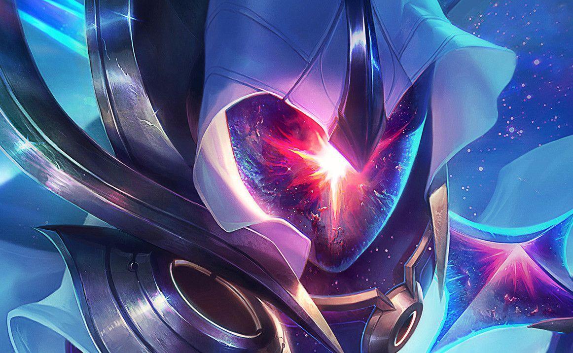 Artstation Cosmic Blade Master Yi Splash Art Jean Go Art