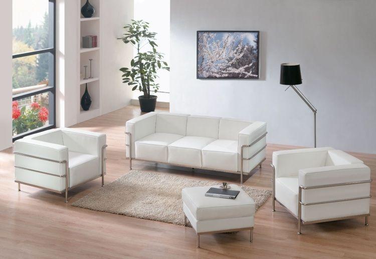 Mobilier de salon blanc – idées de déco et aménagement | Pinterest