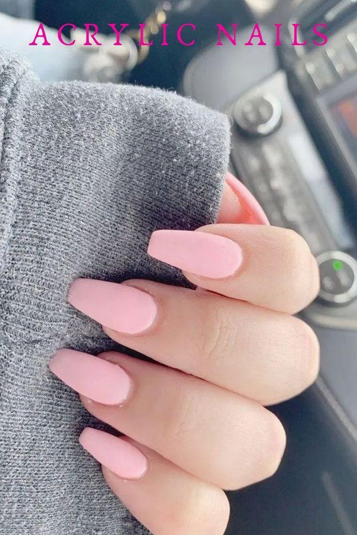 How Long Do Acrylic Nails Last Long Natural Nails Natural Nails Manicure