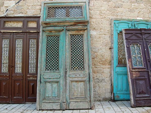 Images of Vintage Wood Doors For Sale - Woonv.com - Handle idea