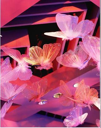 Floating butterflies for wedding reception Keywords: #weddings #jevelweddingplanning Follow Us: www.jevelweddingplanning.com  www.facebook.com/jevelweddingplanning/