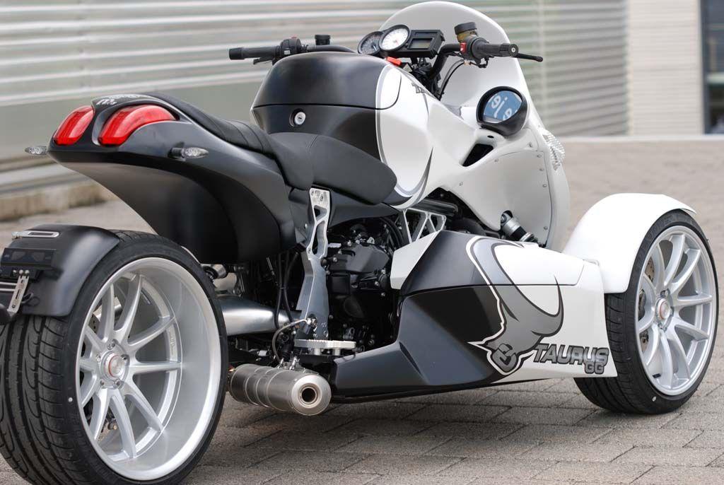 bmw powered, 175hp trike: gg taurus   bmw motorcycle magazine