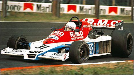 1978 Rene Arnoux, Automobiles Martini Team, Martini MK23 - Ford