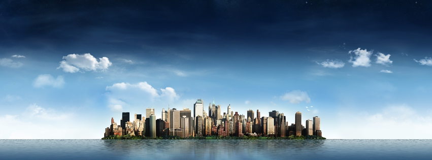 city skyline facebook cover photos pinterest a well