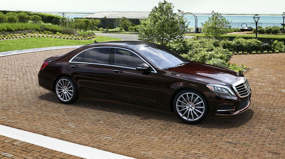 Mercedes Benz S550 In Ruby Black With Sport Package Plus One With