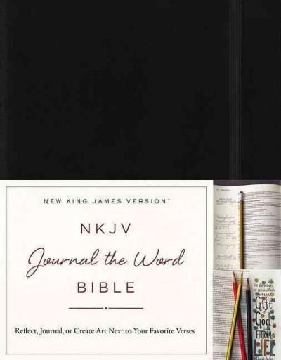 Journal the Word Bible: New King James Version,, Red Letter Edition