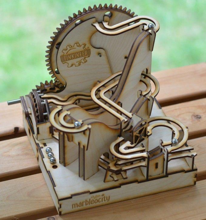 Marbleocity Marble Machine Kit A Stem Maker Experience By Adam B Hocherman Mdash Kickstarter Rolling Ball Sculpture Marble Tracks