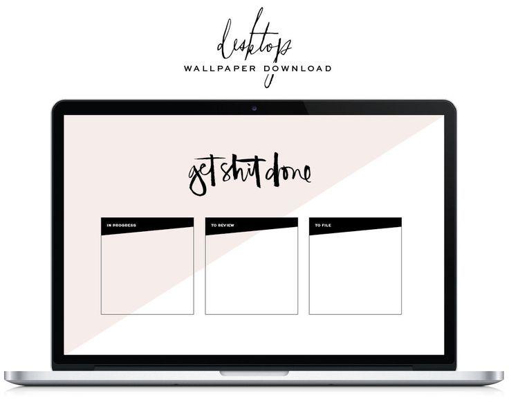 Organize your desktop with this fun wallpaper   Desktop ...