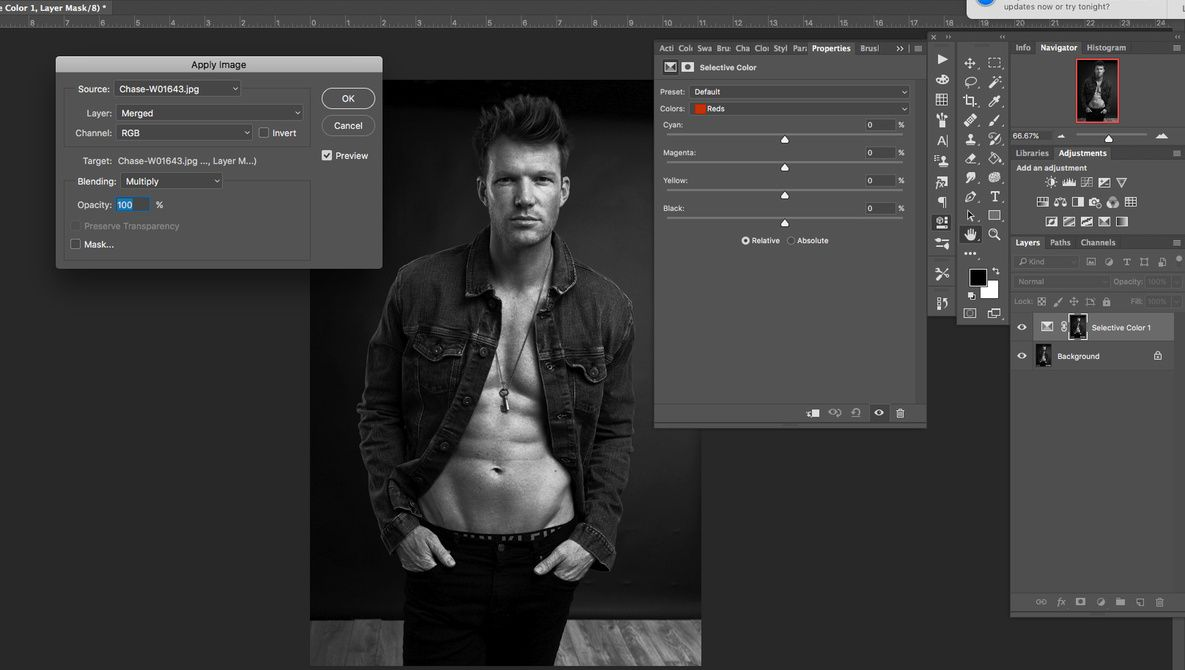 Using Apply Image on Layer Masks in Layer mask