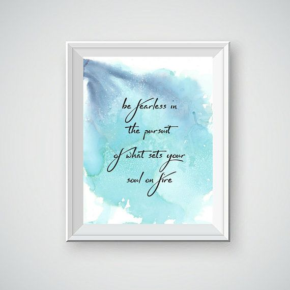 Alcohol Ink Painting, Watercolor Painting, Inspirational Quote