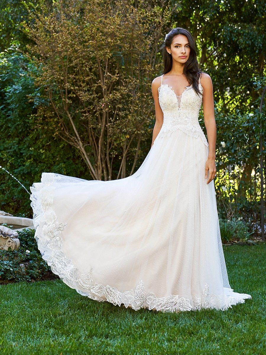 Point desprit gown j from the moonlight collection f gowns