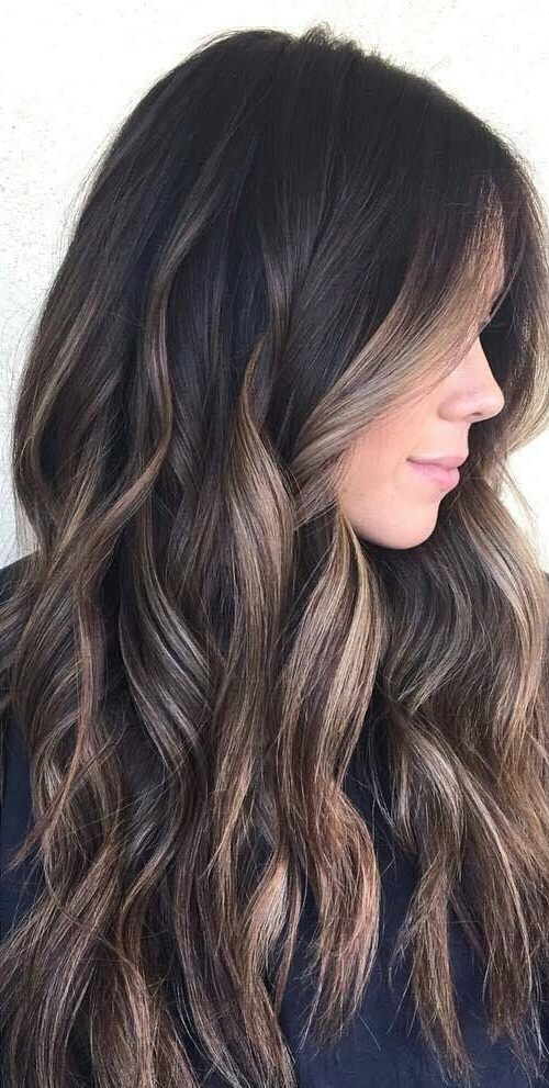 45 Dark Brown To Light Brown Ombre Long Hair Color Ideas Hair Colour Style Hair Color For Black Hair Long Hair Color Balayage Hair
