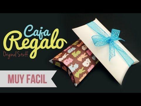 Manualidades para regalar - Cajita para regalo - Manuaildades para