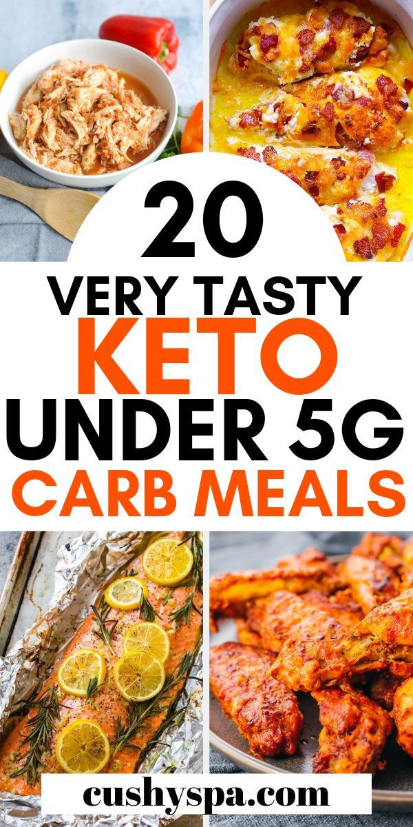 20 Delicious Under 5g Carb Meals for the Keto Diet images