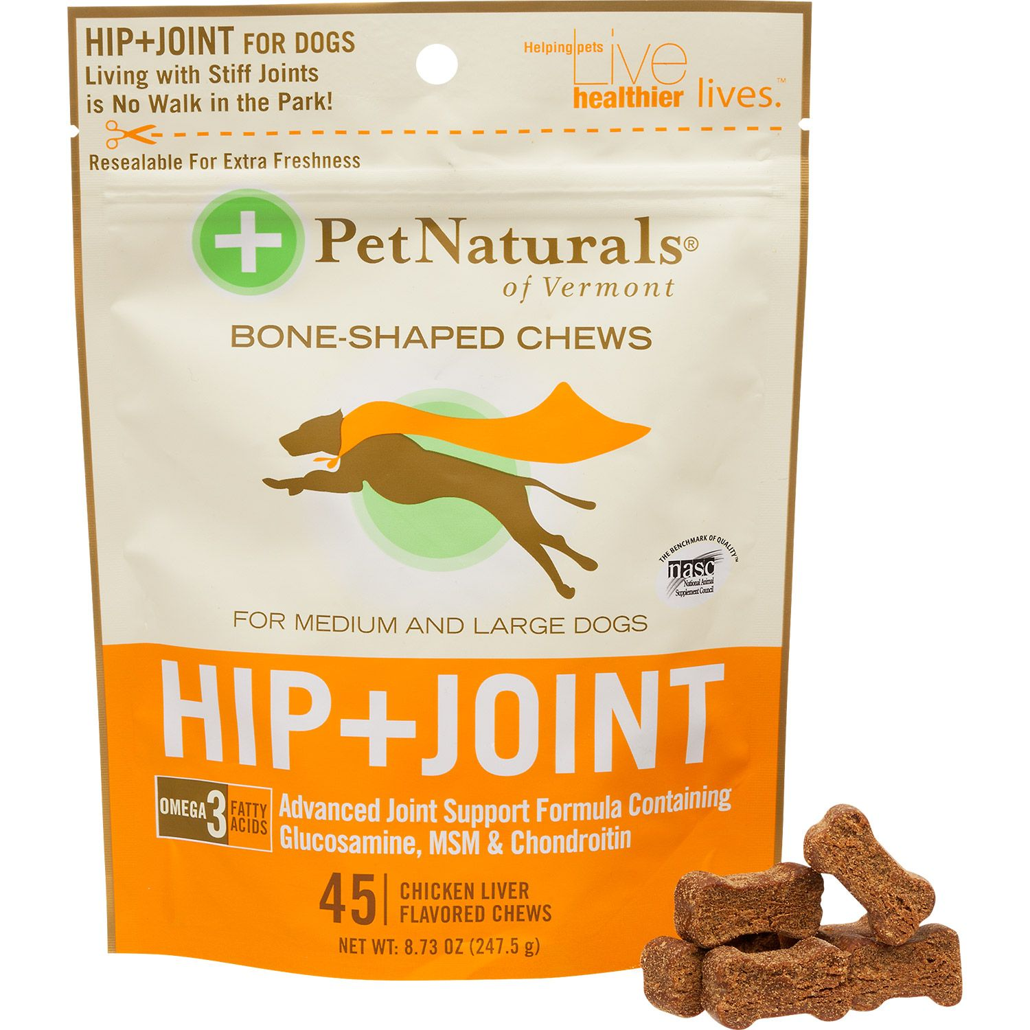 Pet Naturals Hip + Joint Soft Chews Can dogs eat