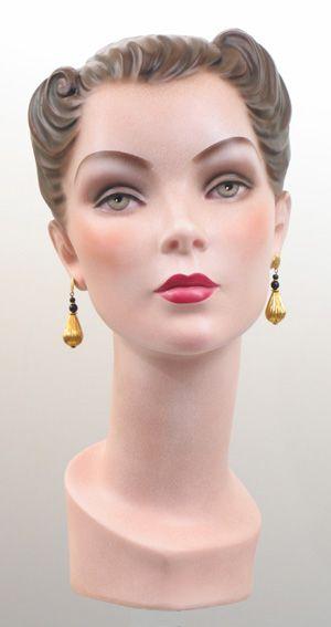1940s Mannequin Head Vintage Mannequin Mannequin Heads Mannequins