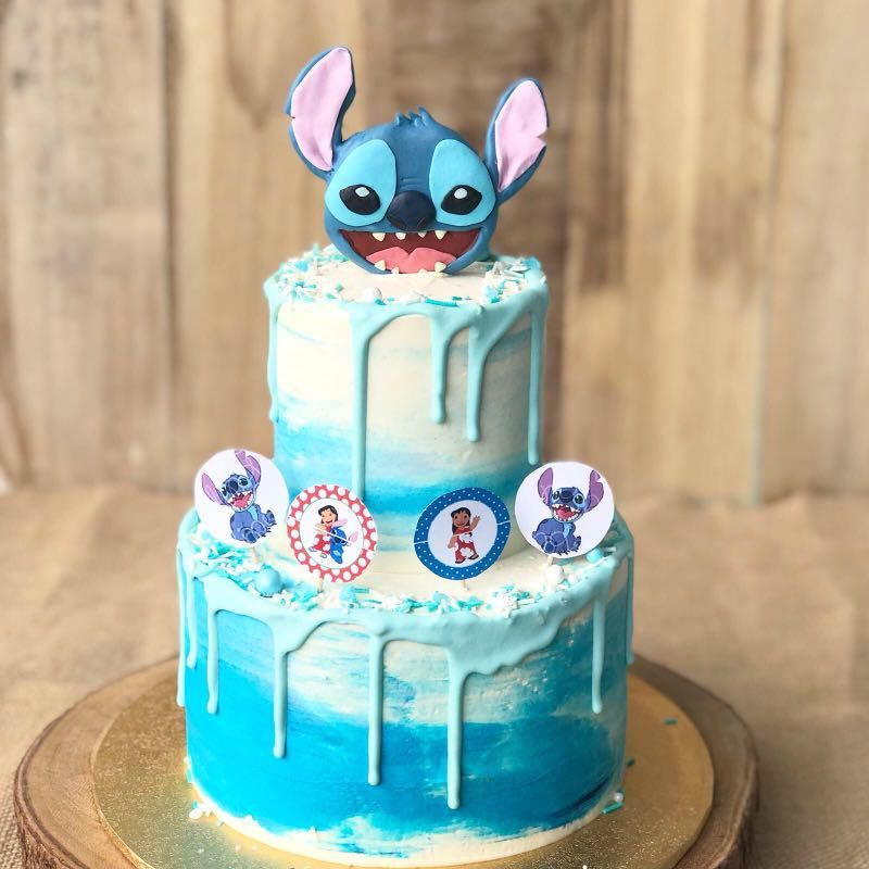 Stitch Cake Kids Birthday Cake Cartoon Cake Free Delivery On