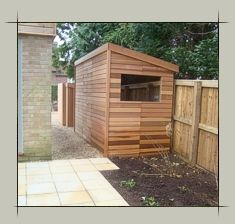 Charmant Westernred Cedar Wood Garden Sheds And Summerhouses Designer Contemporary  Offices Studios Buildings
