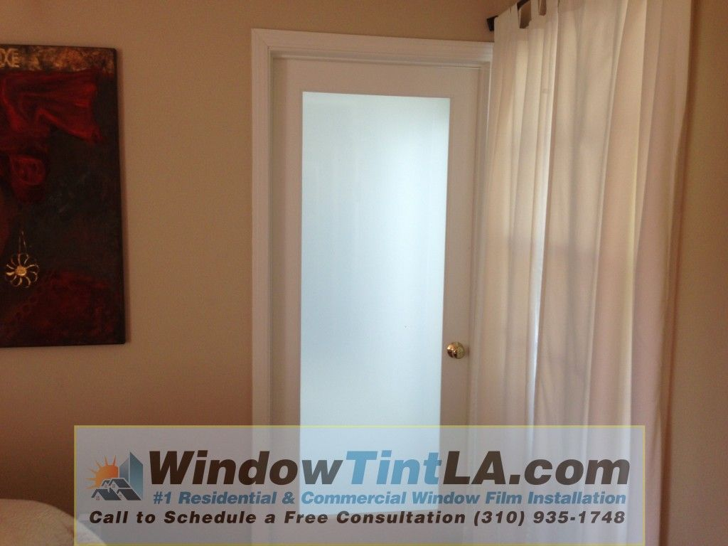 Exceptional Frosted Window Film Increases Privacy By Obscuring The Vision Of Those On  The Outside.
