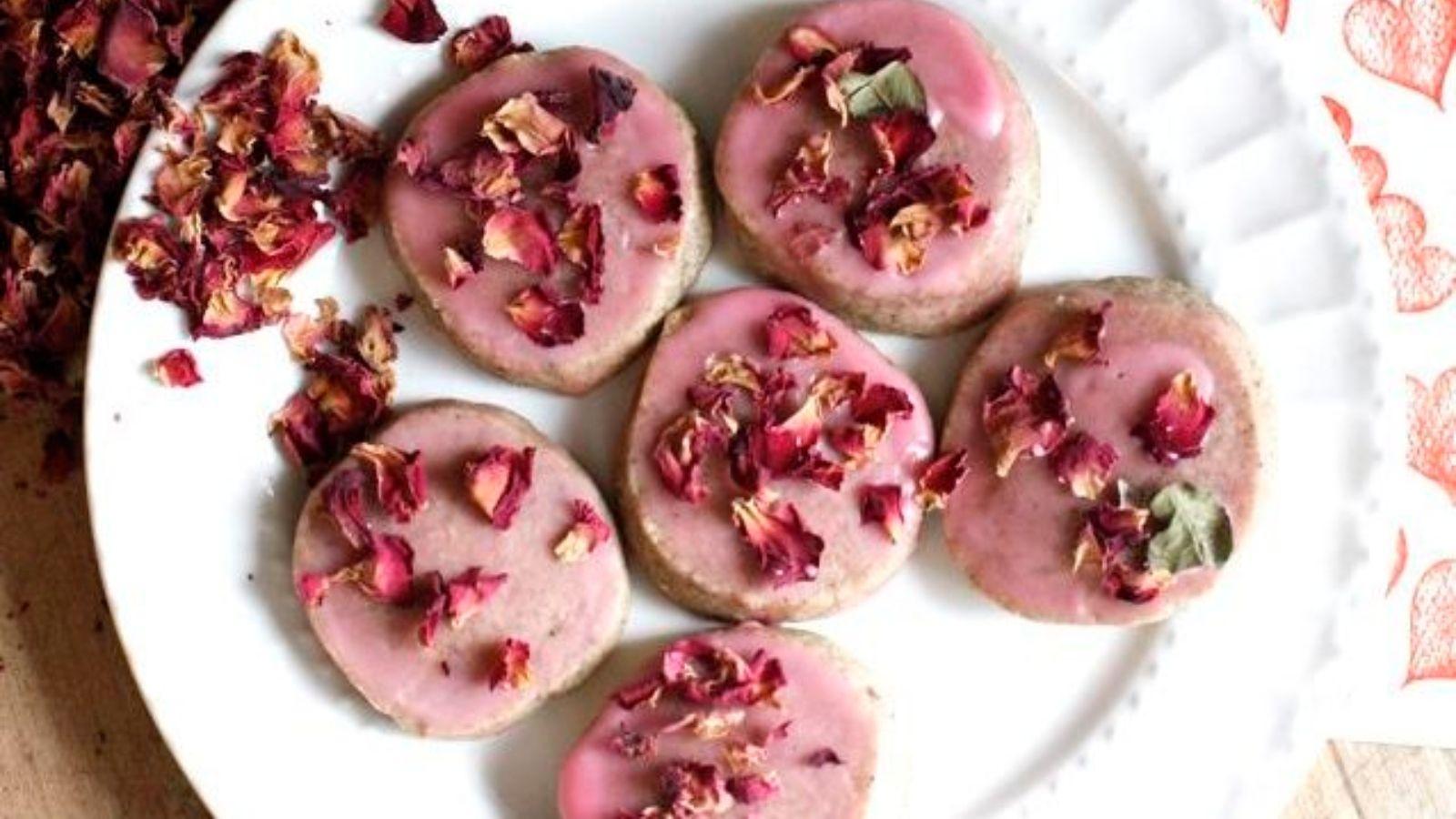 كوكيز بالورد Tea Infusion Recipes Tea Time Food Tea Infuser