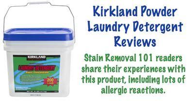 Kirkland Powder Laundry Detergent Reviews Causes Allergies